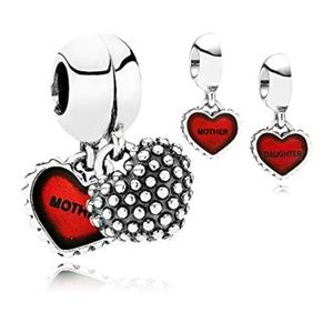 Authentic Pandora Piece Of My Heart Mother Charm